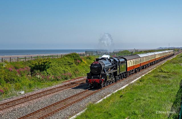45231 - 'North Wales Coast Express' - Abergele - 31 May 2021