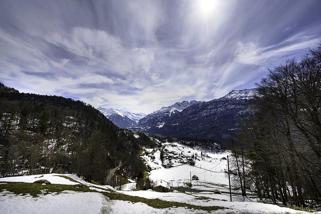 Mountain view from Brünig-Pass - Bern - Switzerland