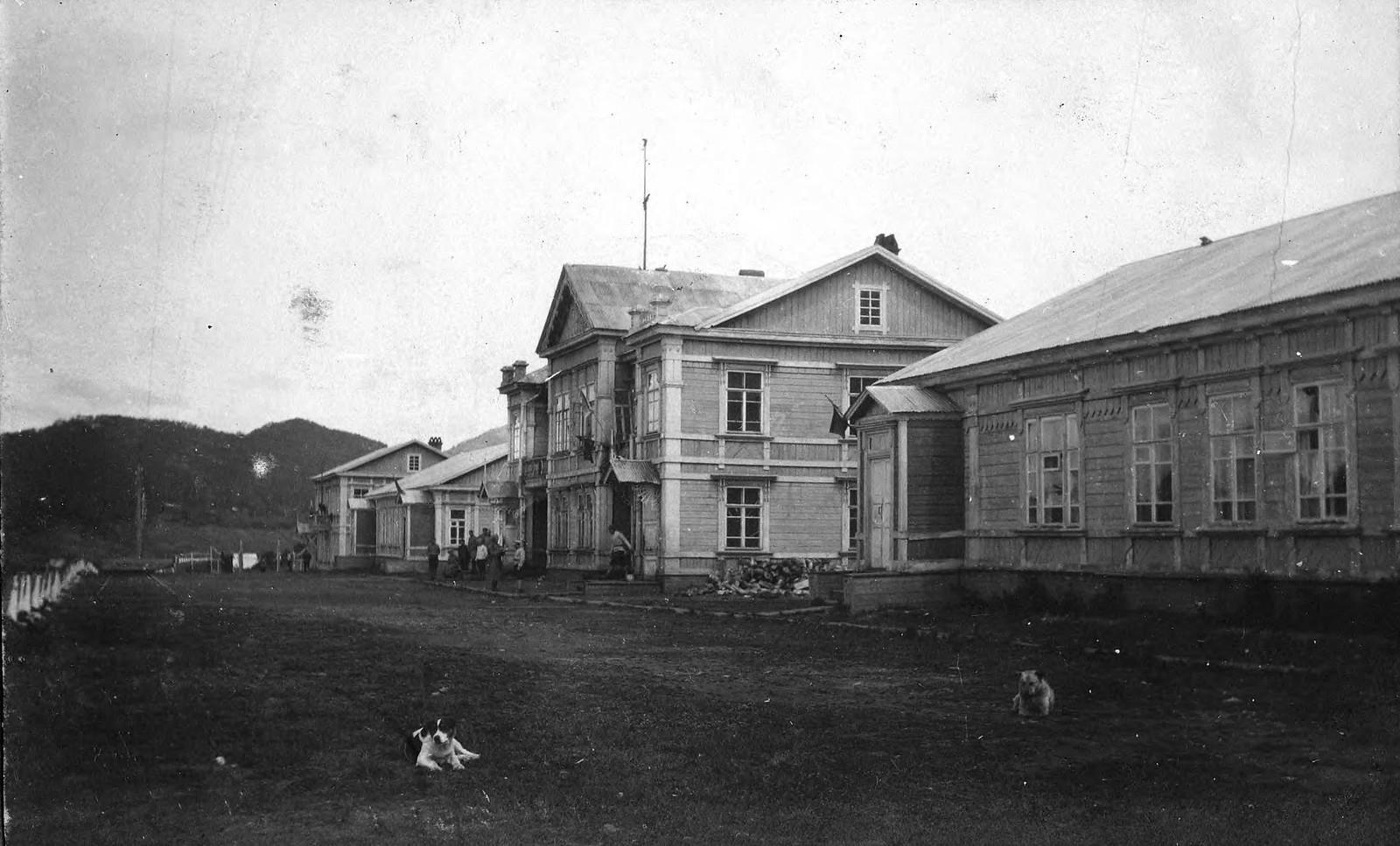 1915. Судейский городок. Дома, выстроенные в 1914 году