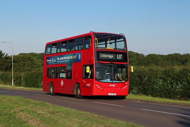 Route U7, Abellio London, 9421, LJ07OPG