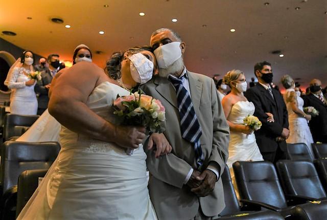 38 casais disseram sim ao amor no Casamento Comunitário da Sejus
