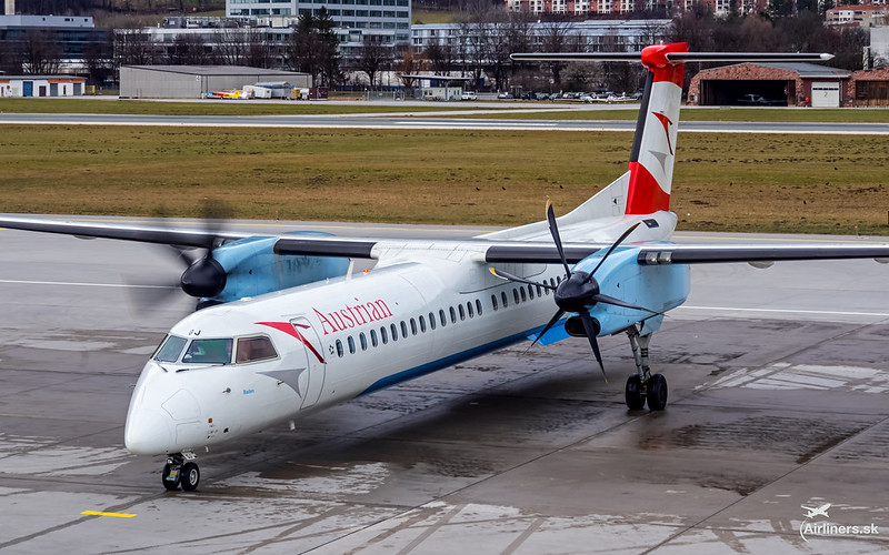 OE-LGJ Austrian Airlines Bombardier DHC-8-402Q Dash 8