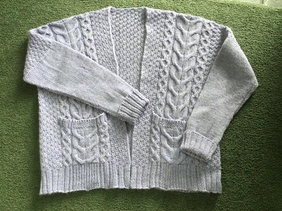 Debbie (debsnubs) finished this beautiful Winters Beach Cardi by Andrea Mowry!