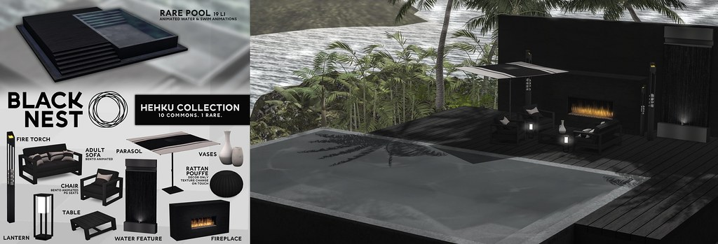 BLACK NEST | Hehku Outdoor Collection | The Arcade