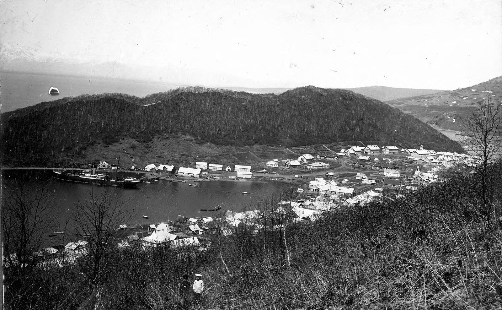 1913. Вид с Петровской сопки.