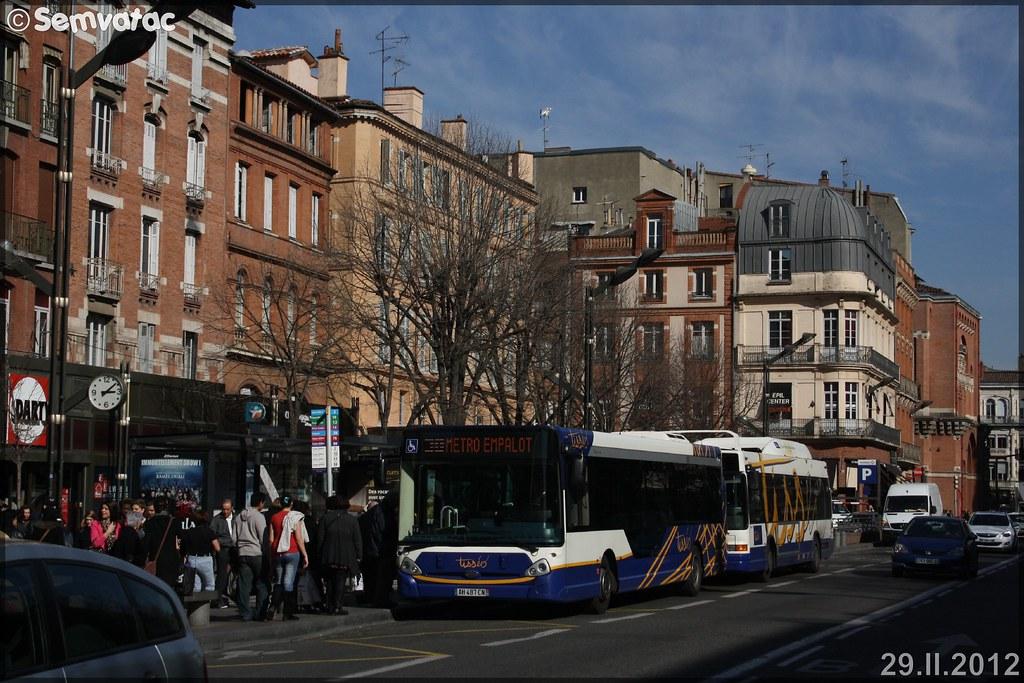 Heuliez Bus GX 327 – Tisséo n°0612