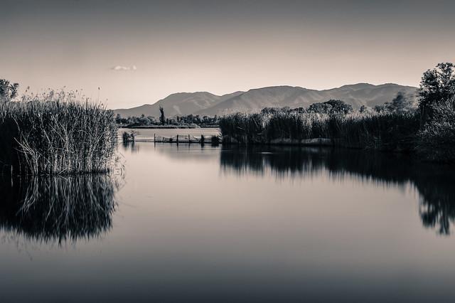 ... tramonto nella riserva (03) ...