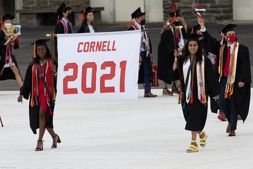 Cornell 2021 Commencement banner