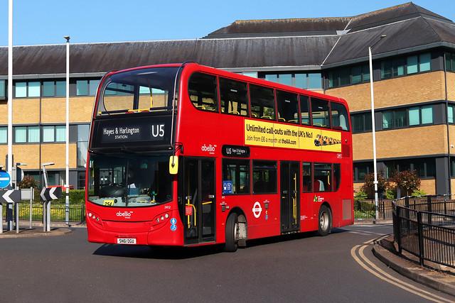Route U5, Abellio London, 2412, SN61DGU