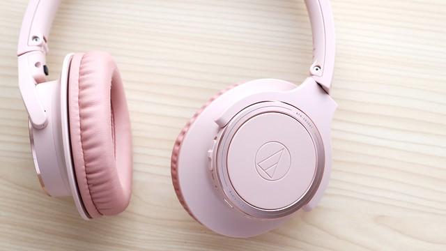 "My oldest daughter's favorite wireless Over-Ear headphones ""audio-technical ATH-SR30BT""."