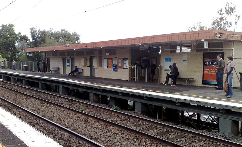 Balaclava station, May 2011
