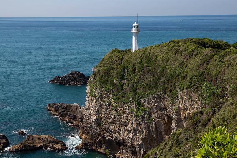 足摺岬と灯台