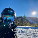 It's a beautiful first day on the mountain!