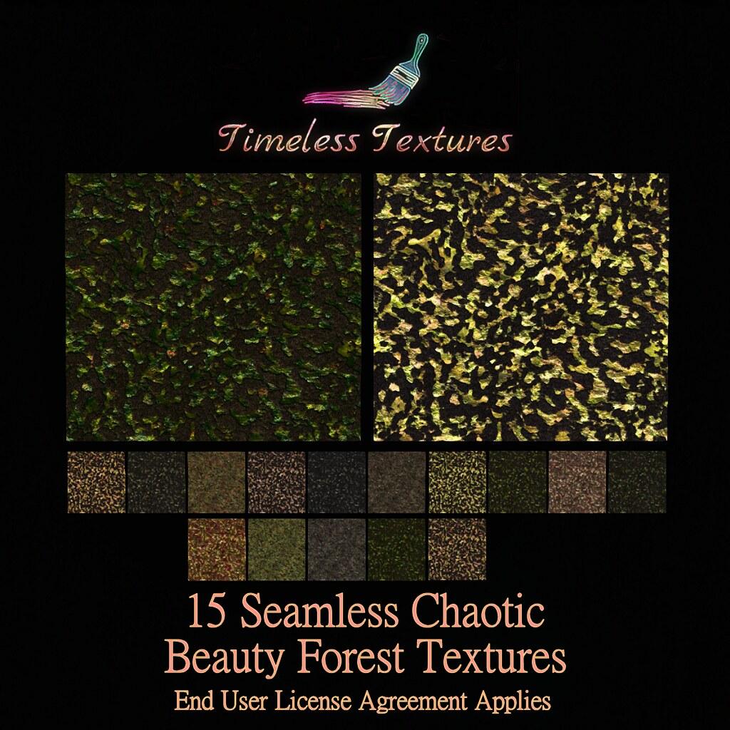 TT 15 Seamless Chaotic Beauty Forest Timeless Textures