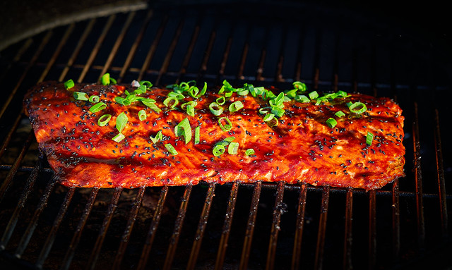 Grilled King (Chinook) Salmon
