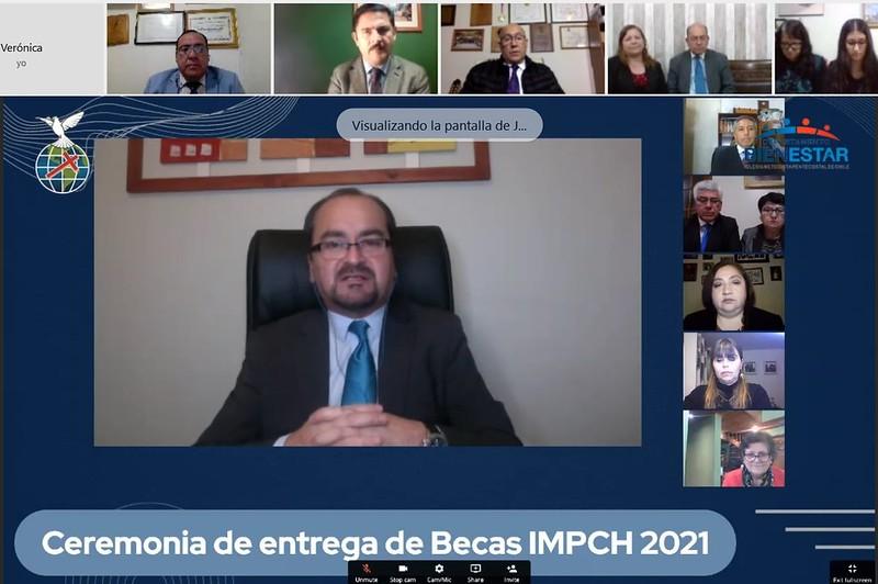 Ceremonia de Entrega de Becas IMPCH año 2021