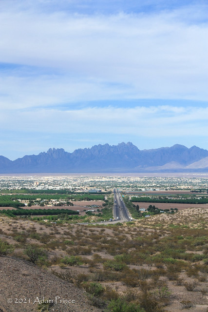 Interstate 10 Las Cruces and Organ Mountains