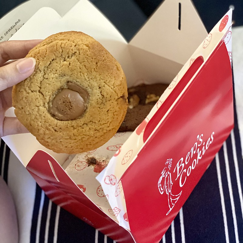 Ben's Cookies Delivery