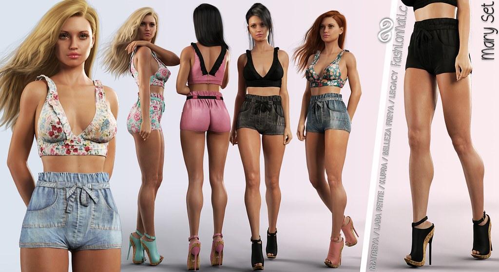 FashionNatic Mary Set