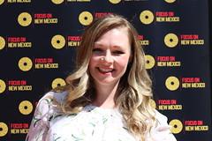 Filmmaker Kelsey Landon of 'Dying Breed' at the Focus On New Mexico Filmmaker Spotlight 2021 - IMG_0477