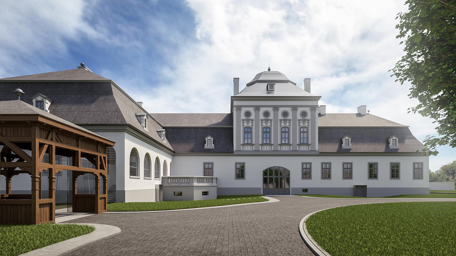 Hétmilliárd forintból újítják fel a geszti Tisza-kastélyt