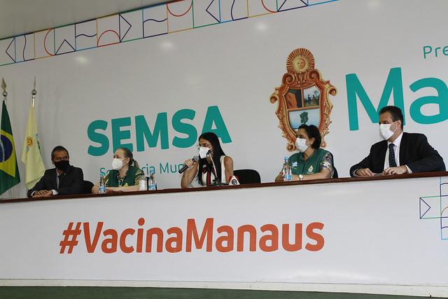 01.06.21 - Manaus começa a vacinar população geral nesta quarta-feira, 2/6