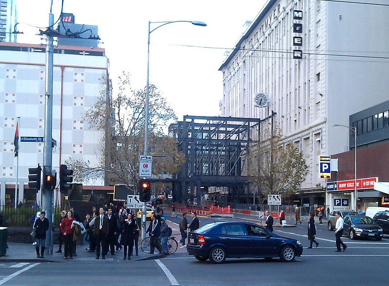 Myer Lonsdale Street, 2011