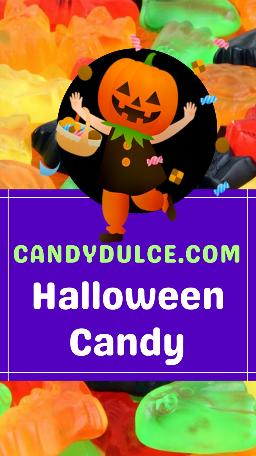Halloween Candy at CandyDulce.com