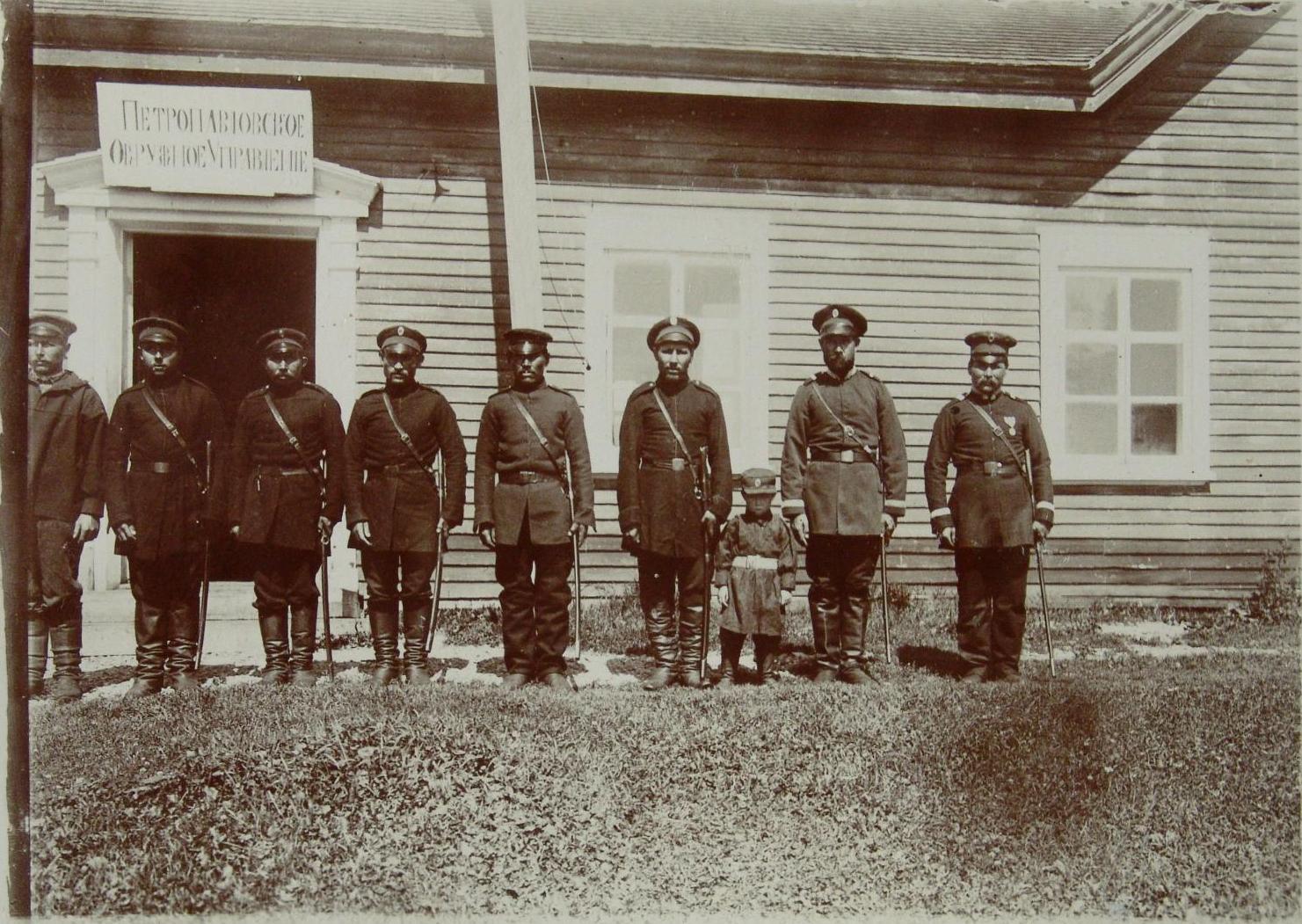 1900-е. Камчатские казаки