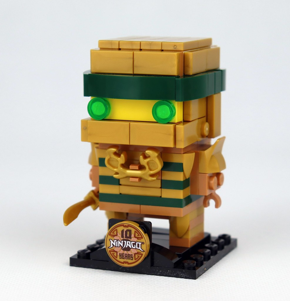 40490 Ninjago 10th Anniversary BrickHeadz (2)