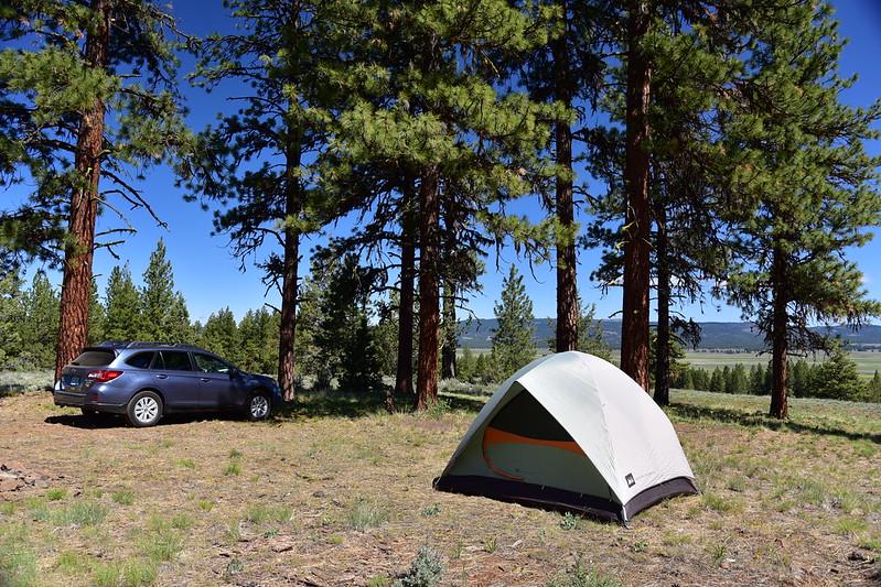 Ochoco campsite