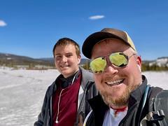 Last weekend skiing with Jack