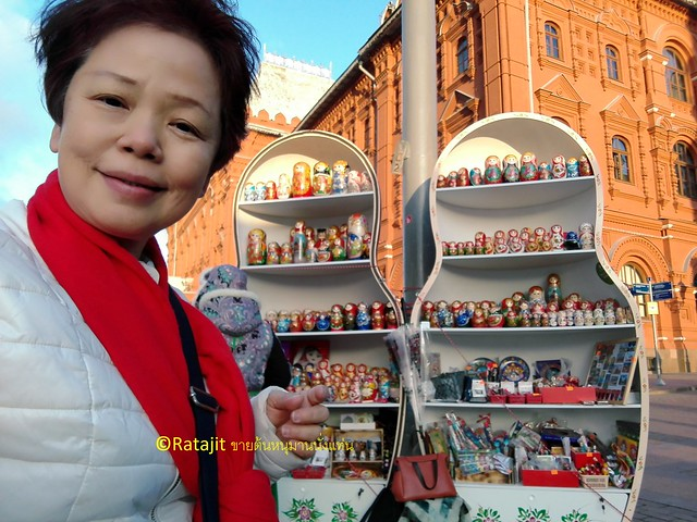 shopping in Moscow by Ratajit