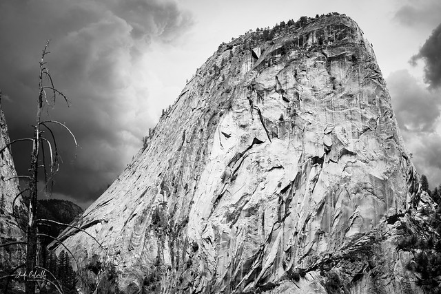 B & W Calm Before the Storm, Yosemite