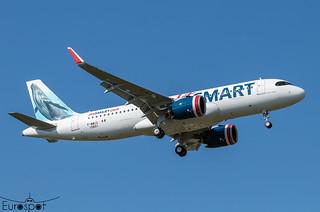 F-WWIC / XA-VRW Airbus A320-271N Jet Smart / Volaris s/n 10601 * Toulouse Blagnac 2021 *