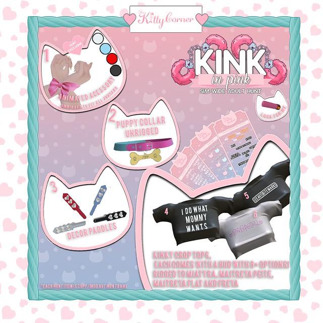 Kink in Pink Hunt Key ~ TKC
