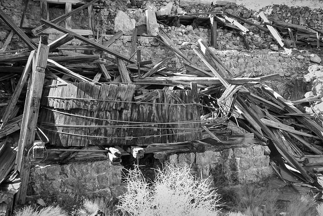 Bonanza King Mill Ruins