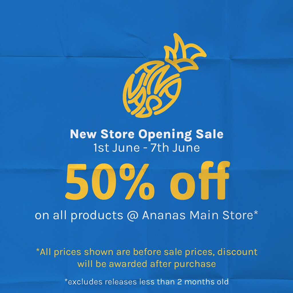 ✨ Enjoy 50% Off Ananas & Mui Products During Our Grand Opening Week! ✨