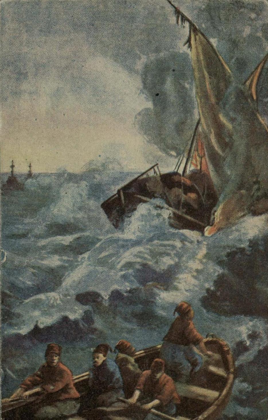 15. 1915. Потопление русскими миноносцами турецких шхун в Черном море