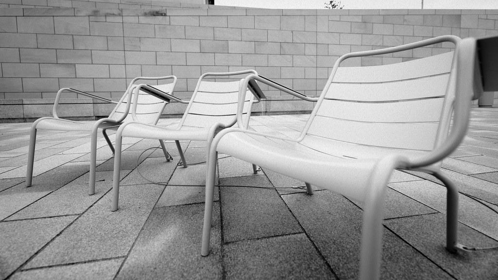 Sitzgelegenheit, immobil