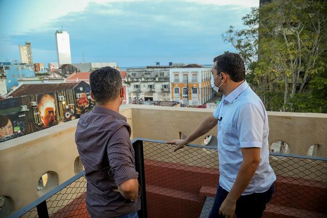 01.06.21 - Prefeitura de Manaus recebe aporte financeiro do governo do Amazonas