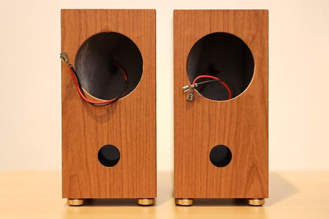 DIY speaker build.