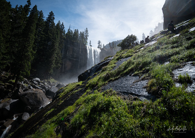 Vernal Falls, Mist Trail (Yosemite)