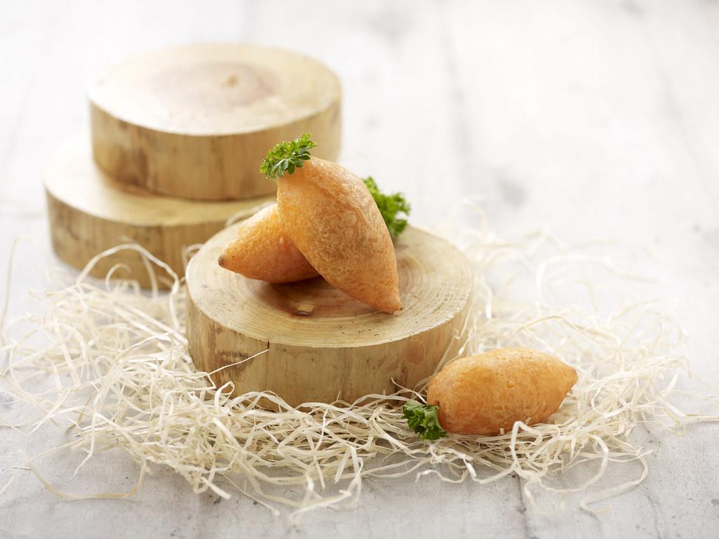 Deep-fried Chicken _ Dried Shrimp Carrot Dumpling