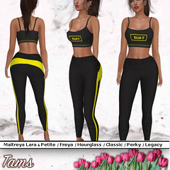 Crop Top and Sports Pants - Ava