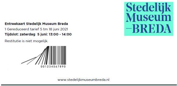 KaartjeStedelijkMuseumBreda