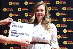 Filmmaker Kelsey Landon of 'Dying Breed' at the Focus On New Mexico Filmmaker Spotlight 2021 - IMG_0476