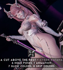 Skellybones - A Cut Above The Rest - Cyber Katana @ Cyber Fair by ACCESS