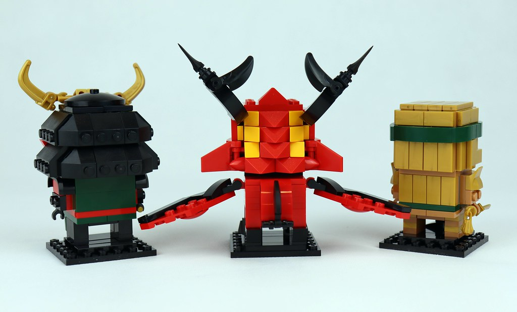40490 Ninjago 10th Anniversary BrickHeadz (5)
