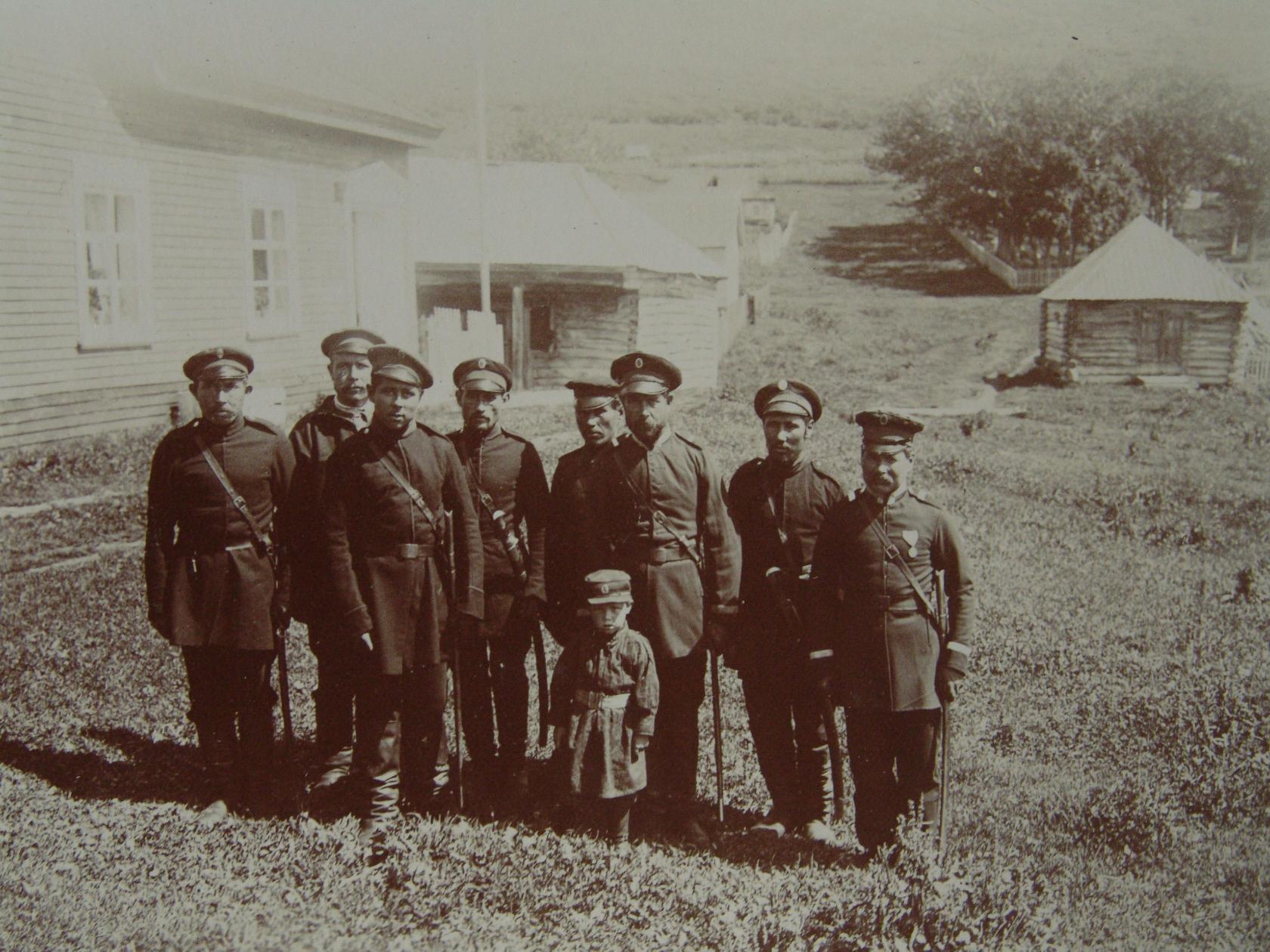 1897. Камчатские казаки